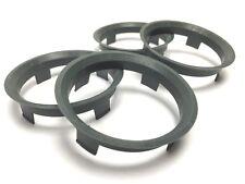 60.1 - 57.1 Spigot Rings, Set of 4, Hub Rings, TUV Approved, VW AUDI SEAT SKODA