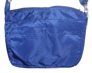 NWOT Blue PacSafe eBag RFID Zip Top Shoulder Bag