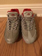 nike air max 95 mens size 11 Athletic Shoes Gray Red Mint Condition