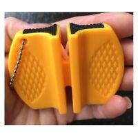 Knife Sharpener Portable Mini Kitchen Tool Stone Sharpening Camping Pocket Tools