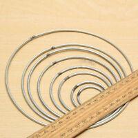 Welded Metal Ring Macrame Craft Hoop DIY Accessories