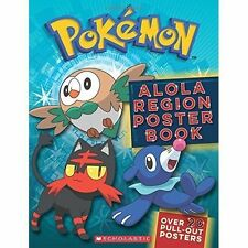 Pokemon: Alola Region Poster Book by Scholastic (Paperback, 2017)