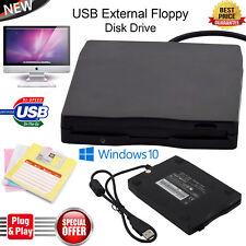 "Brand New Portable Slim External USB 3.5"" 1.44MB Floppy Disk Drive Windows 10"