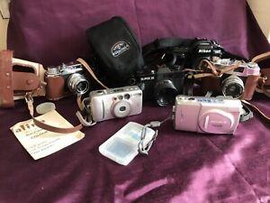 Large Job Lot Camera Mixed Vintage & Modern