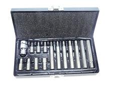 Innensechskant Steckschlüssel Satz 4mm - 12mm Inbus Schraubendreher Kfz Werkzeug