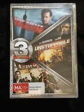 3 MOVIES - TAKEN + UNSTOPPABLE + THE A-TEAM  DVD - BRAND NEW