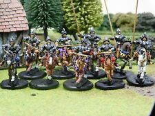 LATE 16C DEMI LANCERS PRO PAINTED BY EYE 28MM FOUNDRY, CASTING ROOM MINIATURES