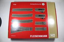 Fleischmann 6193 Profi-Gleis, Dreiweg-Weichen-Set E. Neuware in OVP.