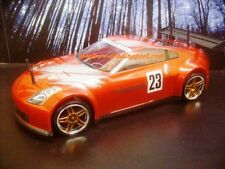 Custom Painted Body NISSAN 350Z NISMOGT for 1/10 RC Drift Cars Touring HPI 200mm
