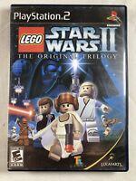 LEGO Star Wars II The Original Trilogy Sony PlayStation 2 PS2 No Manual