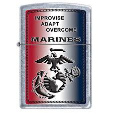"Zippo ""Improvise, Adapt, Overcome"" U.S. Marine Corps Lighter, Limited Production"
