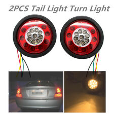 LED Tail Lights /Side Lamp Built-in 19 LED Bulbs For DC 12V/24V Trailers Cars