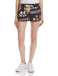 adidas Originals Women's Pharrell Williams Running Shorts Fitness Black Floral
