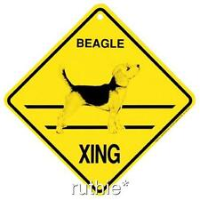 Beagle Dog Crossing Xing Sign New Made in USA