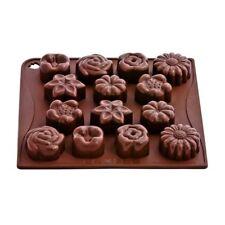 Stampo In Silicone Per Cioccolatini Forma Fiori Pavoni