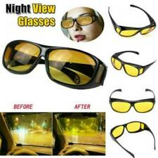 Night Driving Glasses HD Anti Glare Vision Polarized Yellow Lens Tinted Unisex C