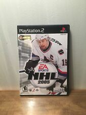 NHL 2005 - PS2 Playstation 2, Complete