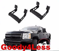 """2 Pieces 3"""" NERF SIDE STEP BAR ADJUSTABLE For Ford F150 F250 Pickup 1 Pair Set"""