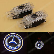 2x LED Welcome Ghost Laser Door Light for Mercedes Benz C W203 W208 W209