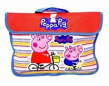 PEPPA PIG LIBRO-documenti borsa OFFICIAL LICENSED Articolo Nuovo di Zecca