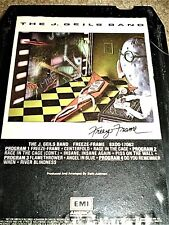J. Geils Band Freeze Frame 8 track 1981 CENTERFOLD RAGE IN THE CAGE FLAMETHROWER