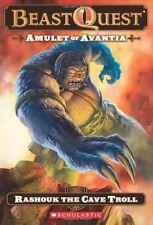 Beast Quest #21: Amulet of Avantia: Rashouk the Cave Troll by Adam Blade
