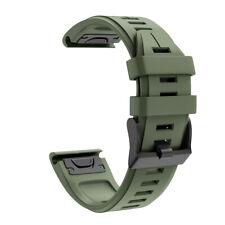 Для Garmin Fenix 5X плюс 6/Fenix 6Pro силиконовый быстрый свободный крой наручные часы ремешок