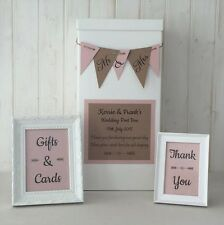 Personalised Wedding Card Boxes | eBay