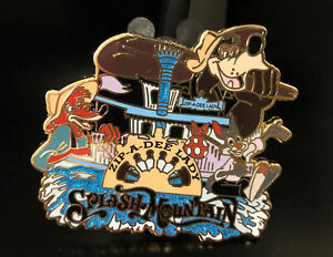 Splash Mountain Brer Rabbit Fox Boat Fantasy Pin Zip-A-Dee-Lady Disney's Ride