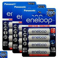 12x Panasonic Eneloop AA batteries 1900mAh Rechargeable Ni-MH Accu LR06 BK-3MCCE