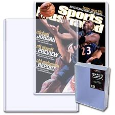 (50) BCW Magazine Topload Holder - 9 X 11.5 x 7MM