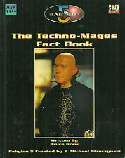 "Graw ""Babylon 5: The Techno-Mages Fact Book"" 2004 1St Ed Pb Vg Rpg"