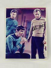 William Shatner Leonard Nimoy DeForest Kelley Signed 8x10 Photo Autograph
