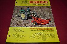 Bush Hog 600 502 Rotary Cutter Dealer's Brochure YABE10