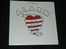 """12"""" VINYL - THE ALARM - LOVE DON'T COME EASY - UNPLAYED - POSTER SLEEVE"""