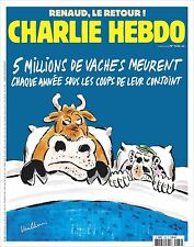 Charlie Hebdo-n°1232 – 02/03/2016- 5 MILLIONS/an...meurent ss les coups conjoint