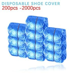 2000pcs Anti Slip Waterproof Boot Covers Disposable Shoe Covers Home/Hotel/Rainy
