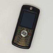 Motorola L7 2G-Big Button Cámara Teléfono-Excelente Estado-talkhome/Naranja