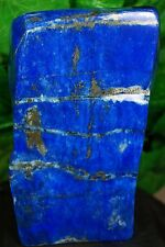 LAPIS LAZULI HAND POLISHED CRYSTAL MINERAL SPECIMEN 2010 GRAMS FROM AFGHANISTAN