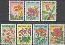 Timbres Flore Guinée Bissau 217/23 o lot 20478