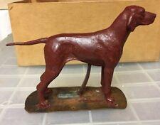 More details for unique antique english wax fieldtrials,gundog game dog pointer,vizsla,weimaraner
