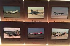 More details for original slide of aircraft:a mixed selection of 100 military aircraft slides