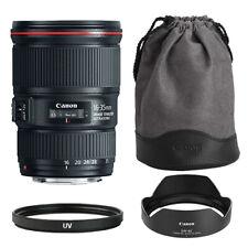Canon EF 16-35mm f/4L IS USM Lens + Multi-Coated UV Filter - BRAND NEW
