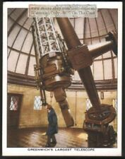 Royal Observatory 36 Inch MirrorTelescope c80 Y/O Trade Ad Card