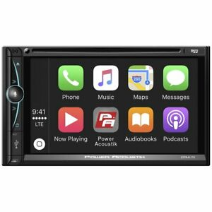 Power Acoustik 7? Double DIN Touchscreen DVD Receiver with Bluetooth - CPAA-70D