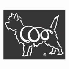Cairn Terrier K-Lines Dog Car Window Tattoo Decal Sticker