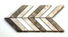 "Chevron Design 6""x12""  Decorative Border Wall Floor Tile Backsplash Bathroom"