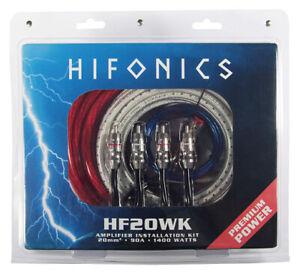 Hifonics HF20WK Premium Kit 20MM ² Premium Verstärker-anschluss-set 20mm