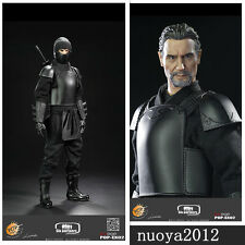 POPTOYS 1/6 EX02 The Leader Shadow Alliance Ninja Master Action Figure Male Body
