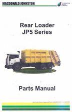 REAR LOADER JP5 SERIES PARTS MANUAL (2004) installation electrical circuits